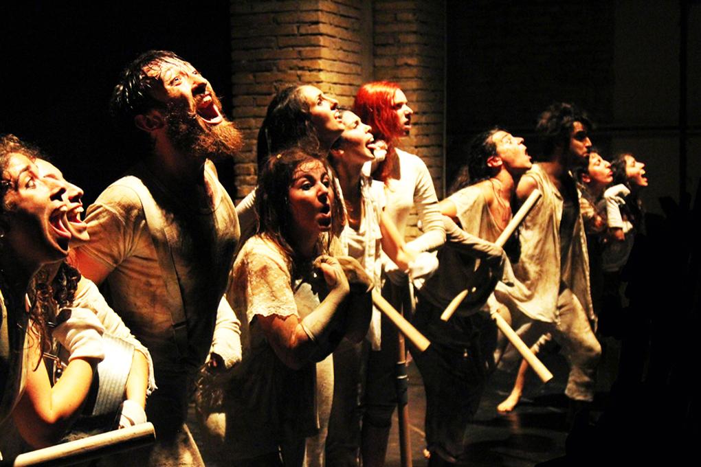 L'Académie théâtrale de Rome Sofia Amendolea s'adjuge le Grand prix du FITU de Tanger