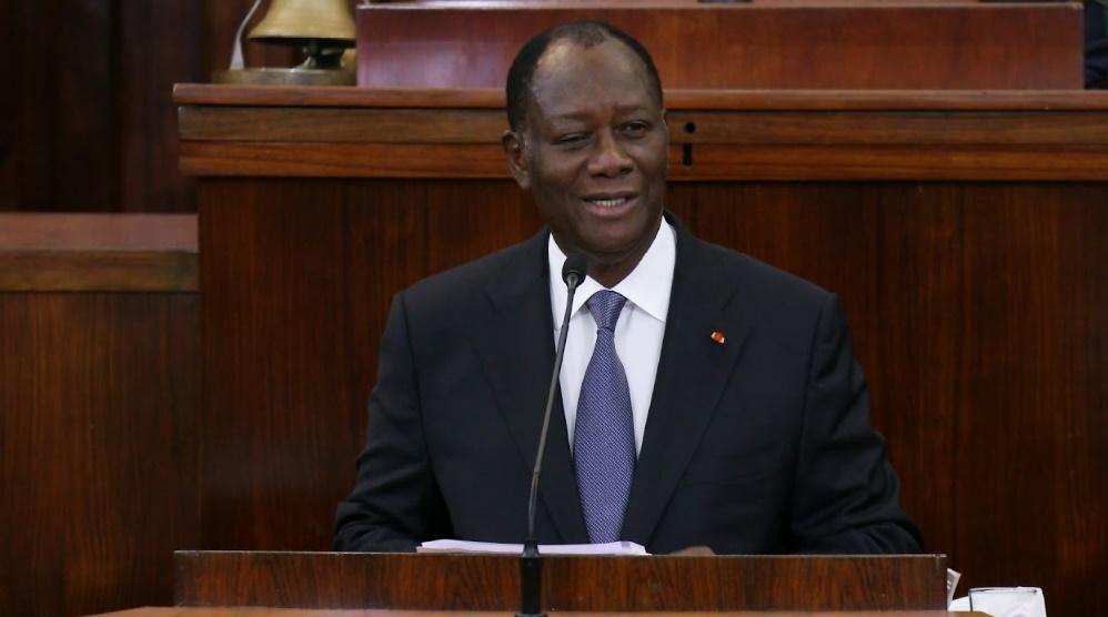 Alassane Ouattara, Président de la Côte d'Ivoire.    Ph. Archives