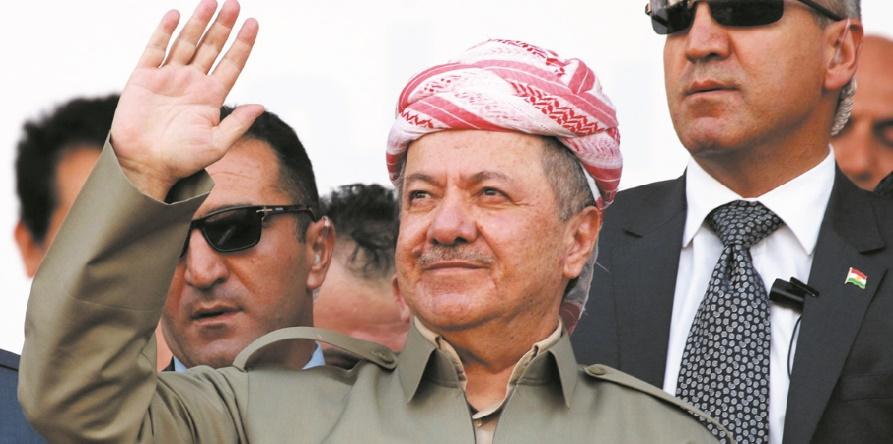 Le leader kurde Massoud Barzani confirme son départ