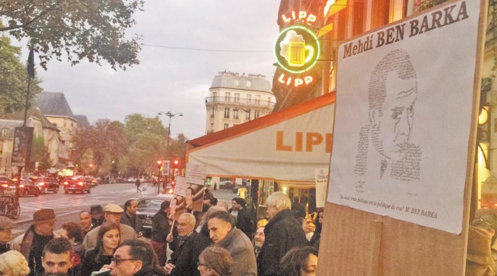 Rassemblement à la mémoire de Mehdi Ben Barka à Paris