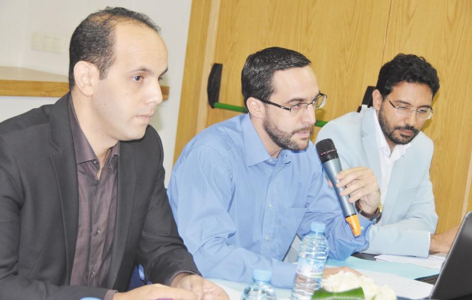 Amam Chakrane, Tarek El Malki et Tarek Lakhal.  Ph: Zoulikha