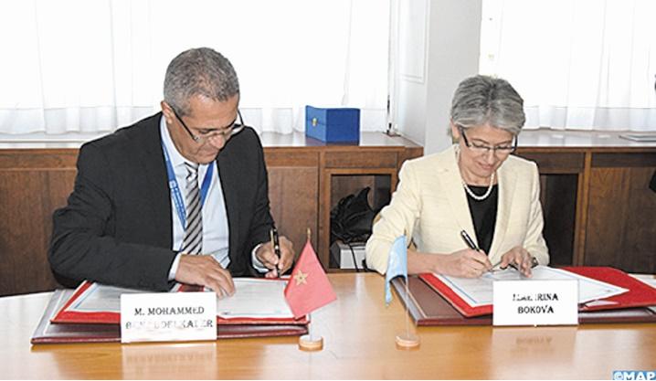 L'UNESCO et le Maroc se donnent la main