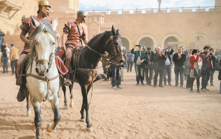 Ouarzazate, une destination en vogue pour les stars et producteurs de cinéma