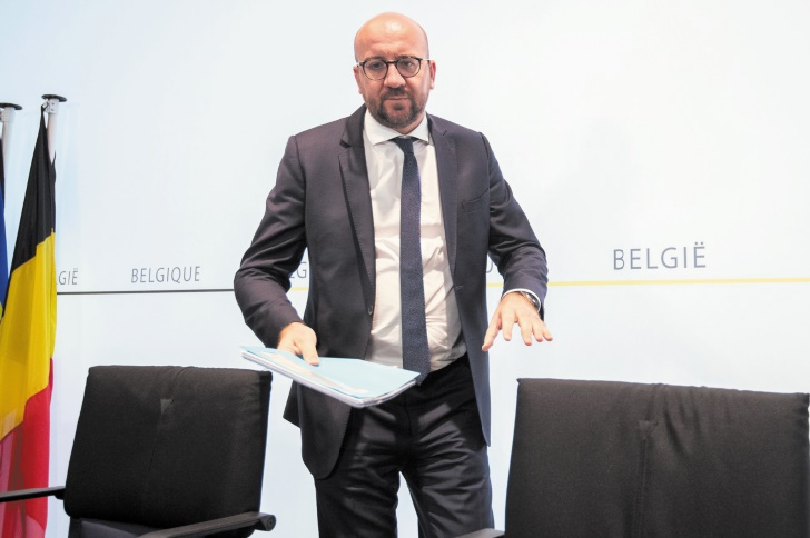 La crise politique c'est en Espagne qu'il faut la chercher, dixit Charles Michel