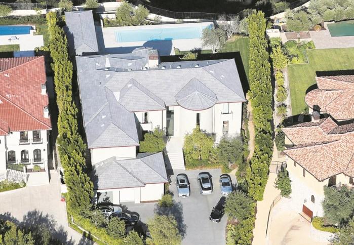 Kim Kardashian et Kanye West vendent leur villa à un prix pharaonique