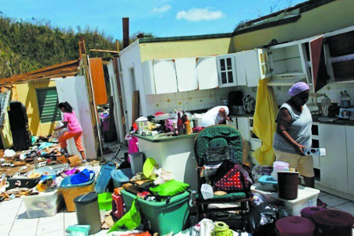 Porto Rico va perdre  14% de sa population à cause de l'ouragan Maria