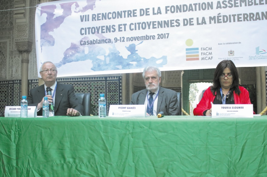 La citoyenneté au service de la paix en Méditerranée