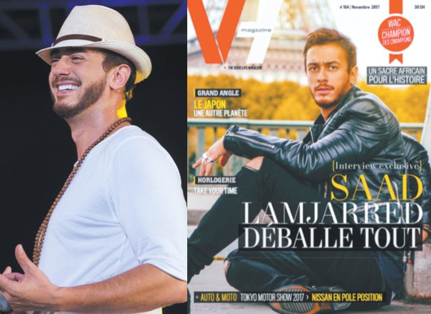 Vive polémique autour de la Une d'un magazine dédiée à Saad Lamjarred
