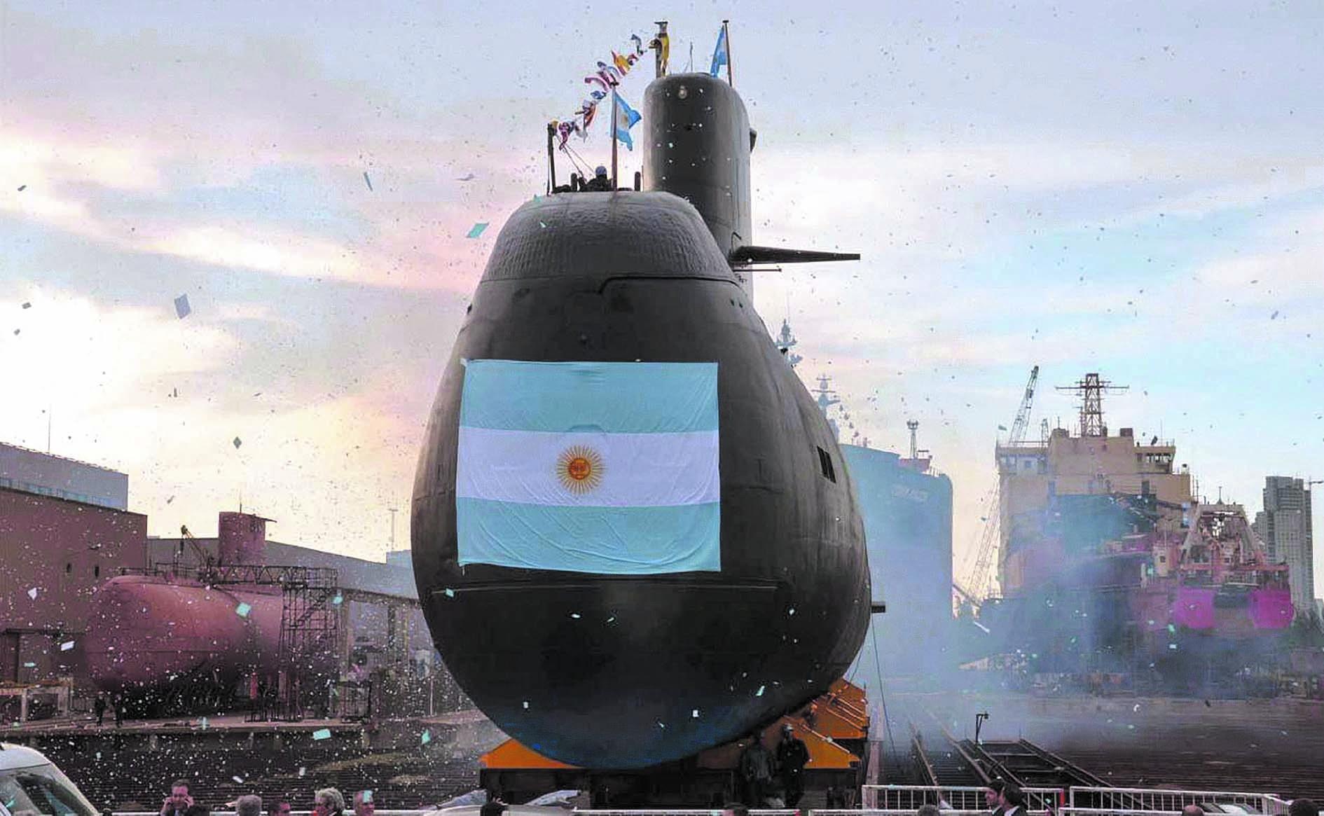 Des appels de détresse émis depuis un sous-marin argentin porté disparu