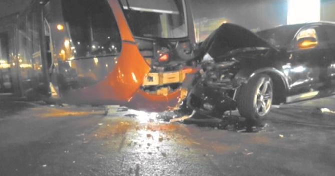 L'incivilité routière cause mort et perturbation du réseau du tramway à Casablanca