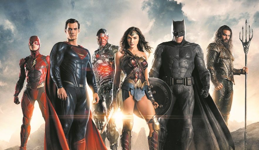 "Les super-héros de ""Justice League"" déçoivent au box-office"