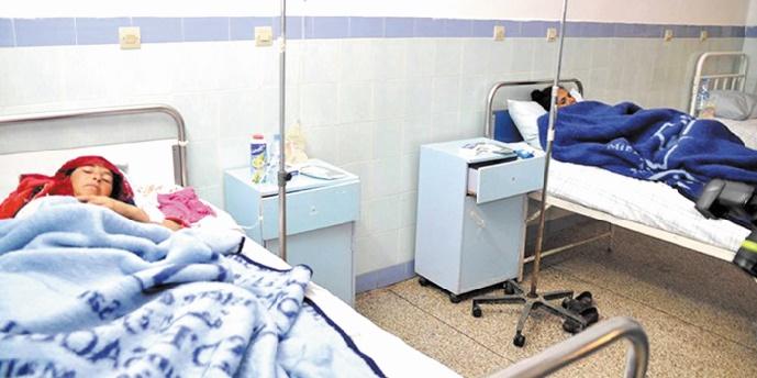 Amélioration de l'état de santé des blessés hospitalisés