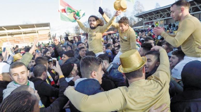 Dalkurd, le club suédois qui fait la fierté des Kurdes