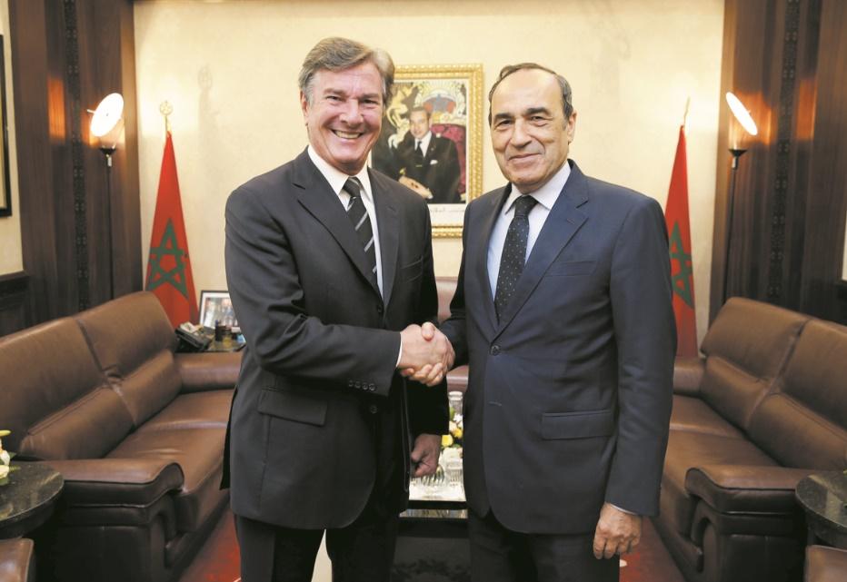 Echanges fructueux entre Habib El Malki et le président de la Commission des A.E au Sénat brésilien