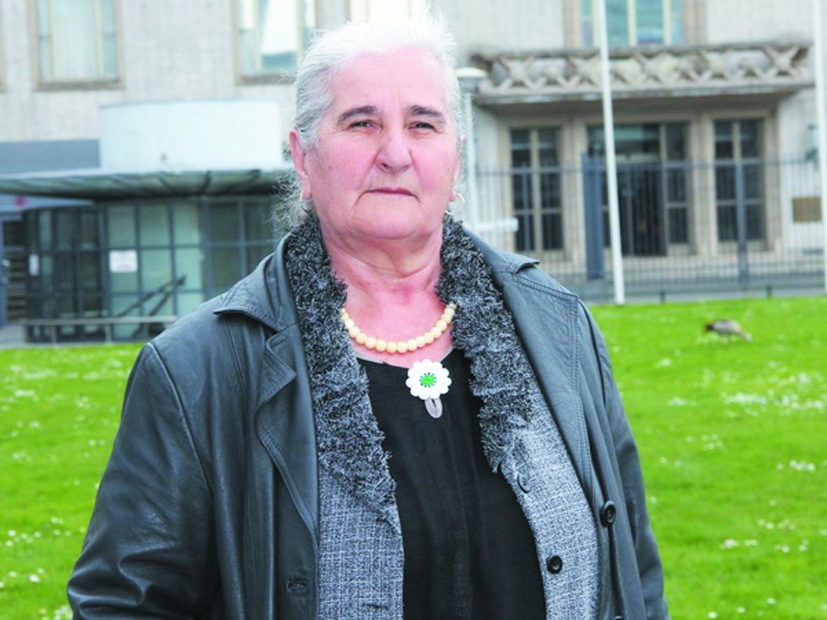 "Munira Subasic, ""mère de Srebrenica"" en quête de justice"