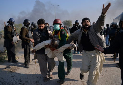 Calme tendu entre islamistes et forces de l'ordre à Islamabad