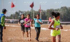 Championnat régional scolaire d'athlétisme à Kelâat des Sraghna