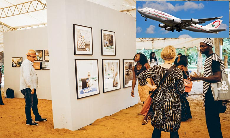 La Royal Air Maroc, transporteur officiel de la Biennale africaine de la photographie