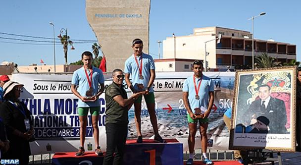 Farih et Kanoun remportent le GP national de triathlon