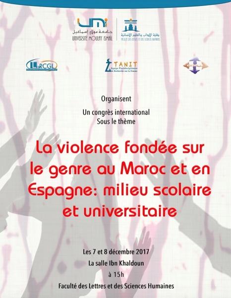 Congrès international à Meknès sur la violence faite aux femmes