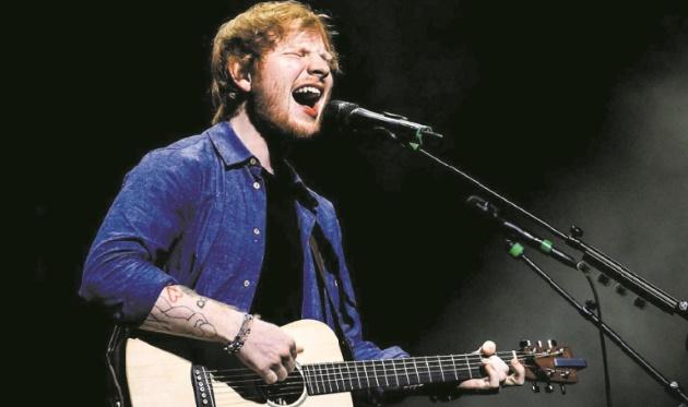 Ed Sheeran, roi de Spotify en 2017