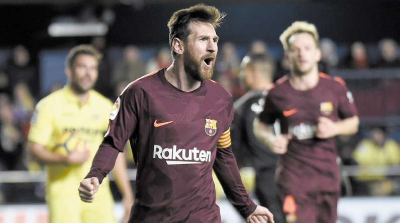 Le Barça conserve son avance sur Valence