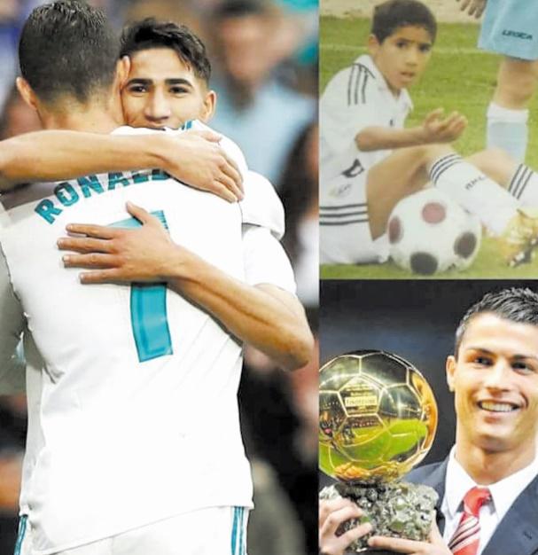 Autrefois fan  de Ronaldo,  aujourd'hui  son partenaire.