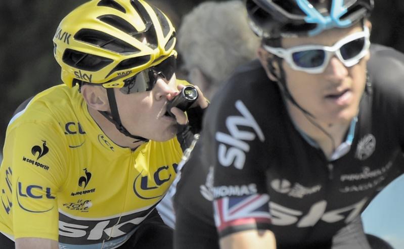 Chris Froome confronté à une affaire de dopage