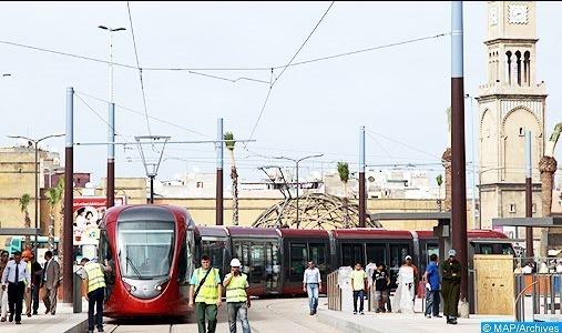 Plus de 157 millions de passagers transportés par le tramway de Casablanca