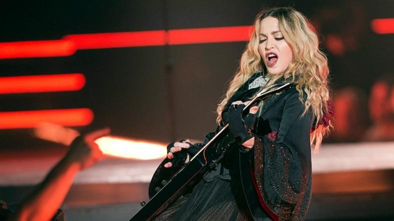 Retour sur scène de Madonna en 2018