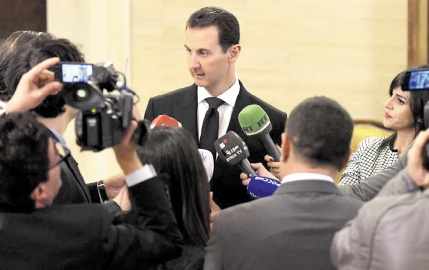 Assad accuse la France de soutien au terrorisme