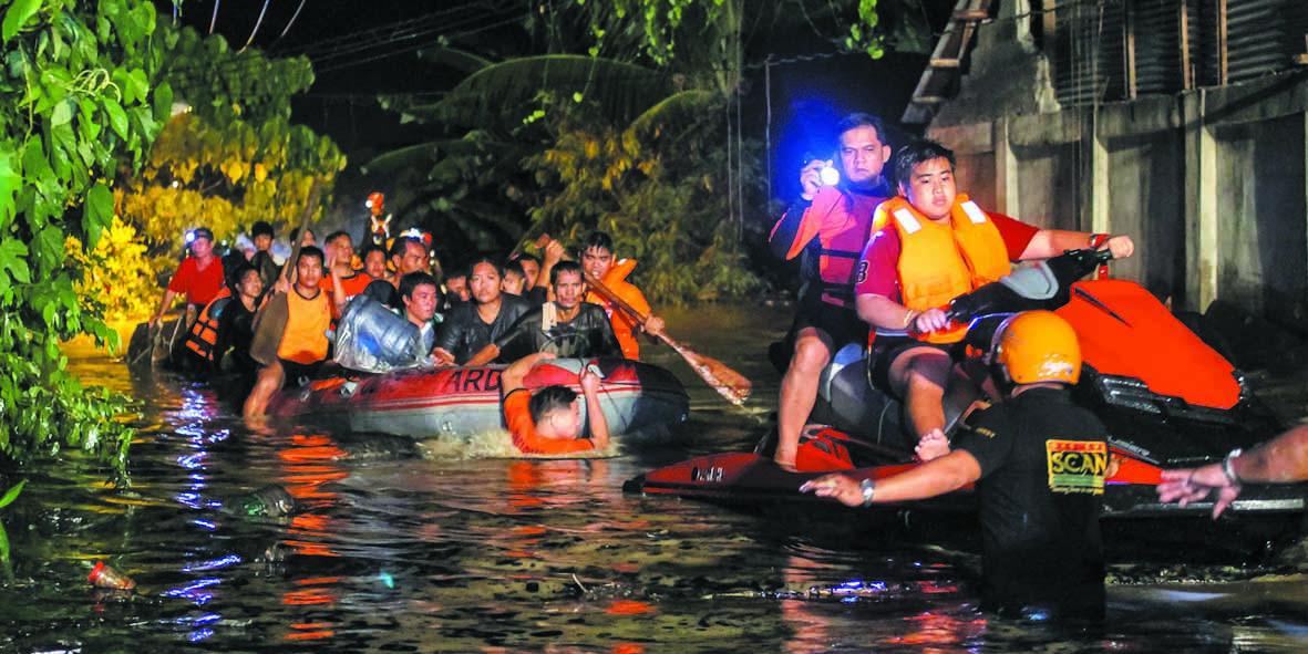 Le typhon Tembin a fait  200 morts aux Philippines