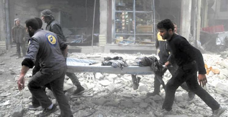 Evacuations médicales dans la Ghouta orientale