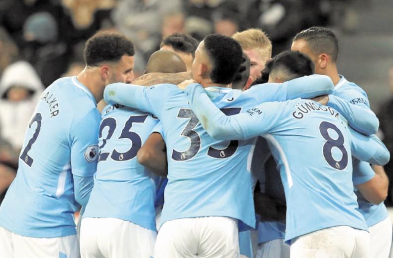 City écarte Newcastle et chasse le record