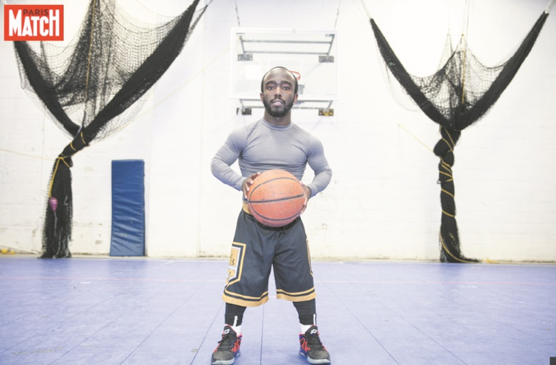 Jahmani Swanson, basketteur au service des Harlem Globetrotters