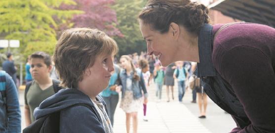 """Le retour de Julia Roberts dans """"Wonder"""", plaidoyer pour la différence"""