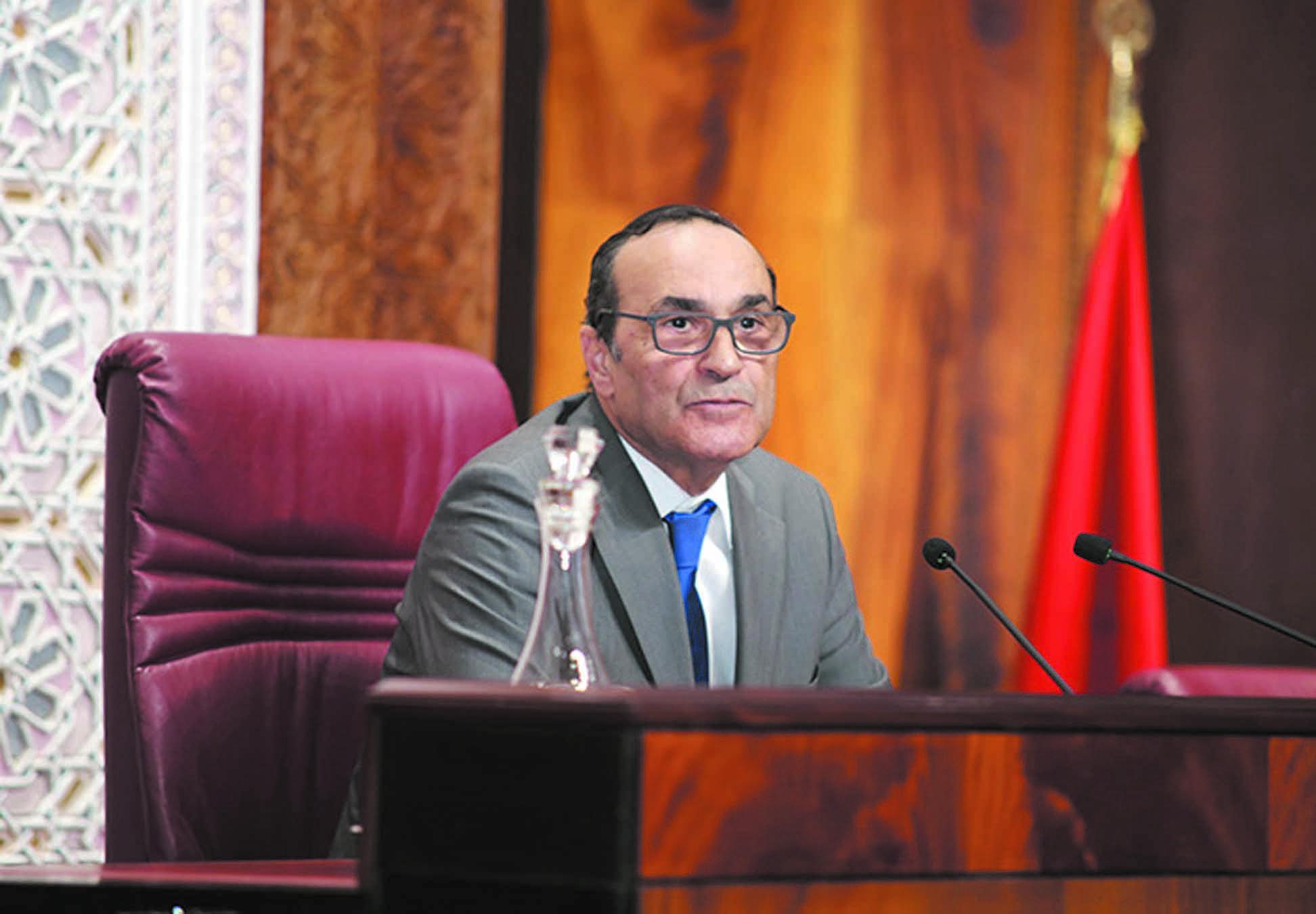 Habib El Malki au Perchoir