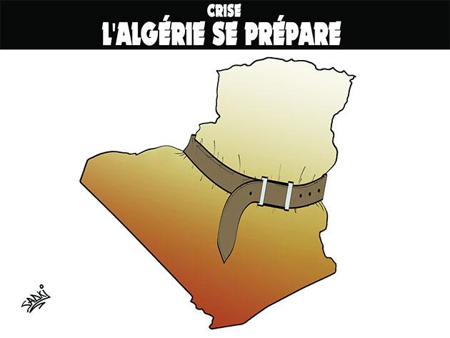 La crise économique plombe l'emploi  en Algérie