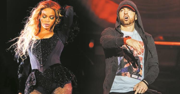 Déclin du rock ? Beyoncé et Eminem têtes d'affiche à Coachella