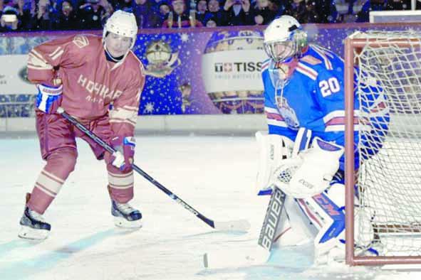 Insolite : Poutine joueur  de hockey