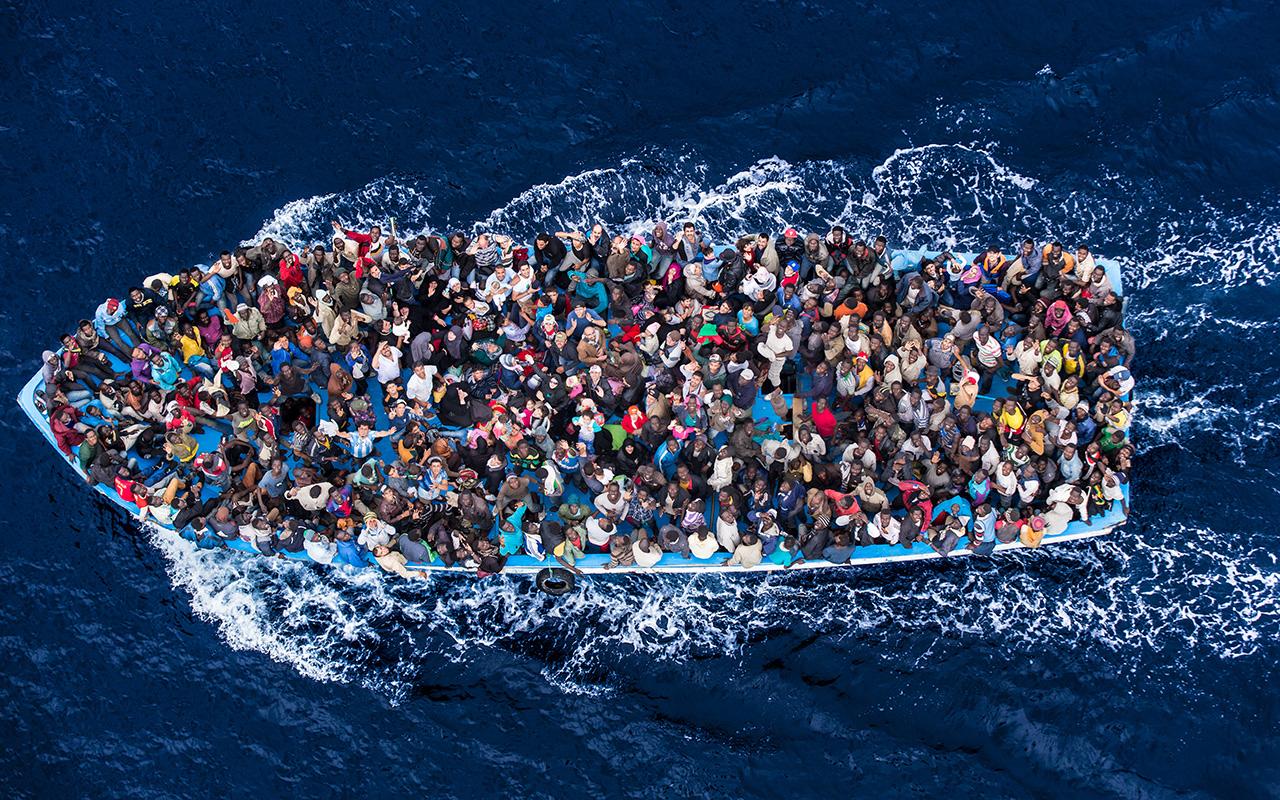 Le nombre de migrants dans l'UE pourrait  tripler d'ici 2100