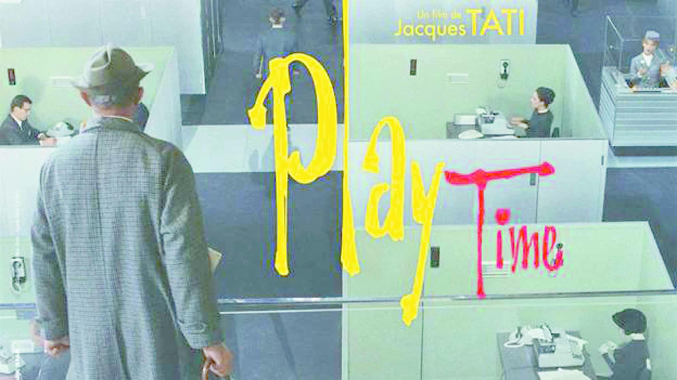 Les meilleurs films de tous les temps : 97 - Playtime Jacques Tati (1967)