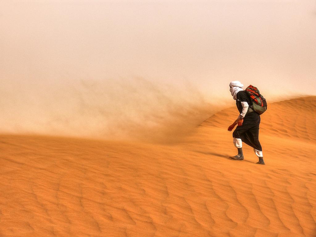 Recrudescence des tempêtes de sable dans la zone MENA