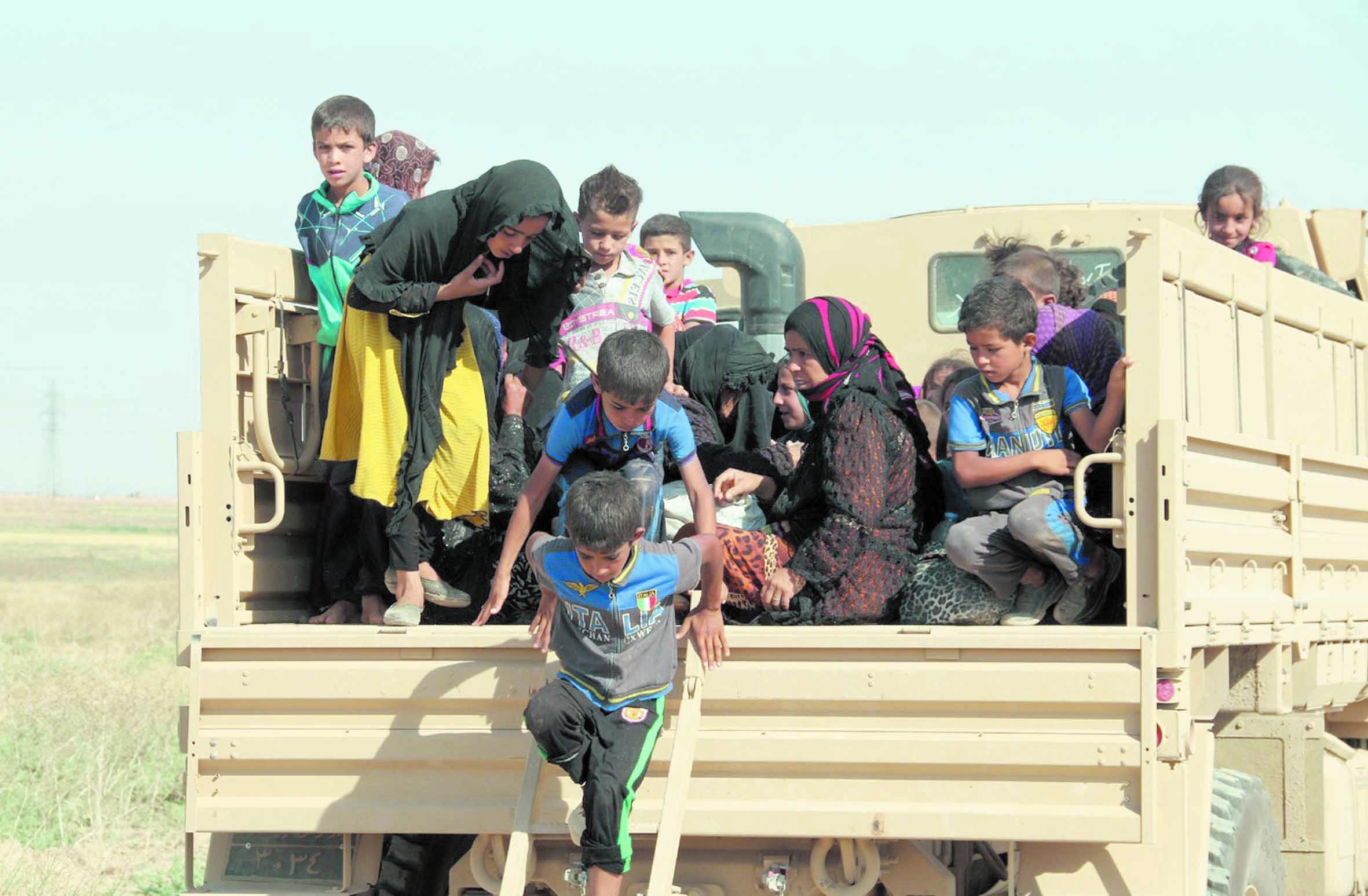 Des déplacés irakiens seraient rapatriés contre leur gré