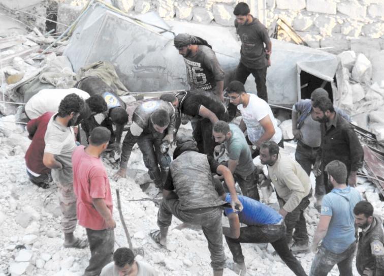 21 civils tués dans des raids aériens à Idleb