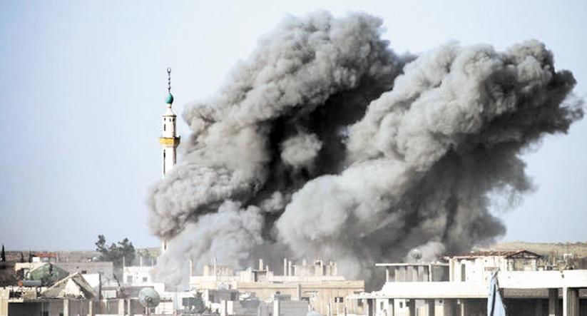 Bombardements nocturnes de l'armée israélienne en Syrie