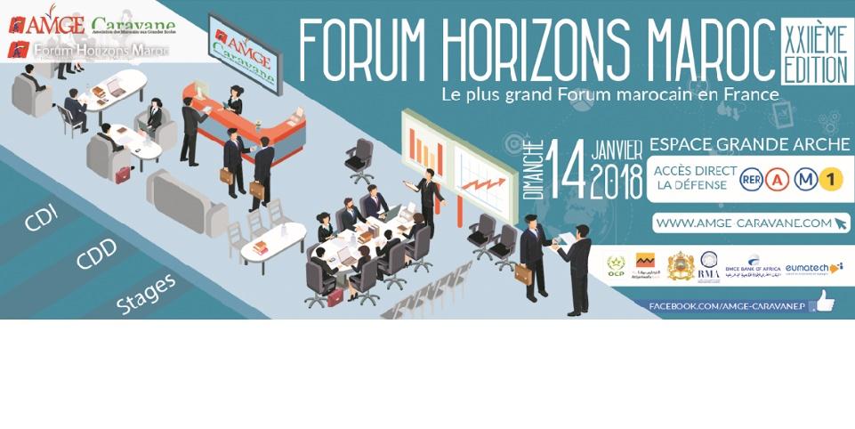Le Forum Horizons Maroc fait salon à Paris