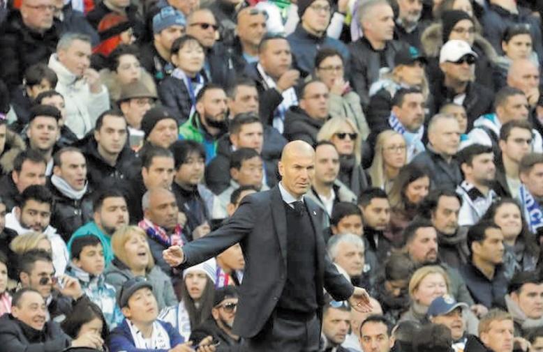 Zidane martial pour remotiver les troupes