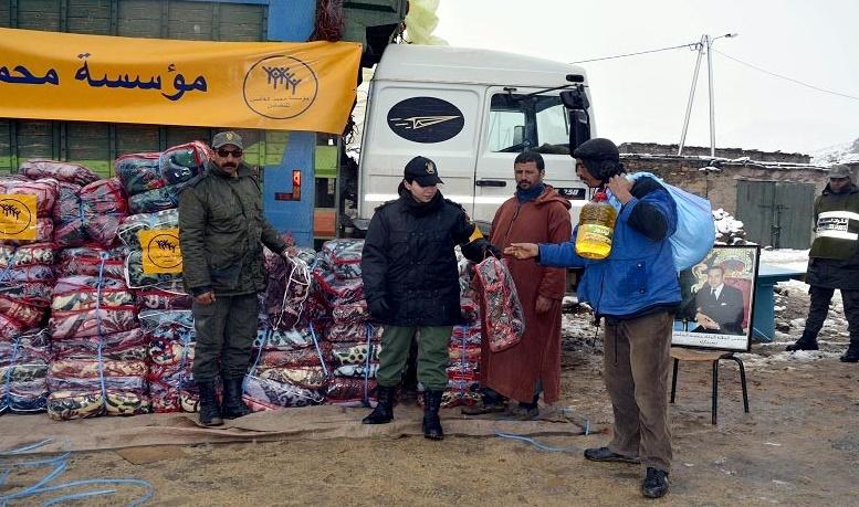 La Fondation Mohammed V pour la Solidarité au chevet de familles en situation difficile
