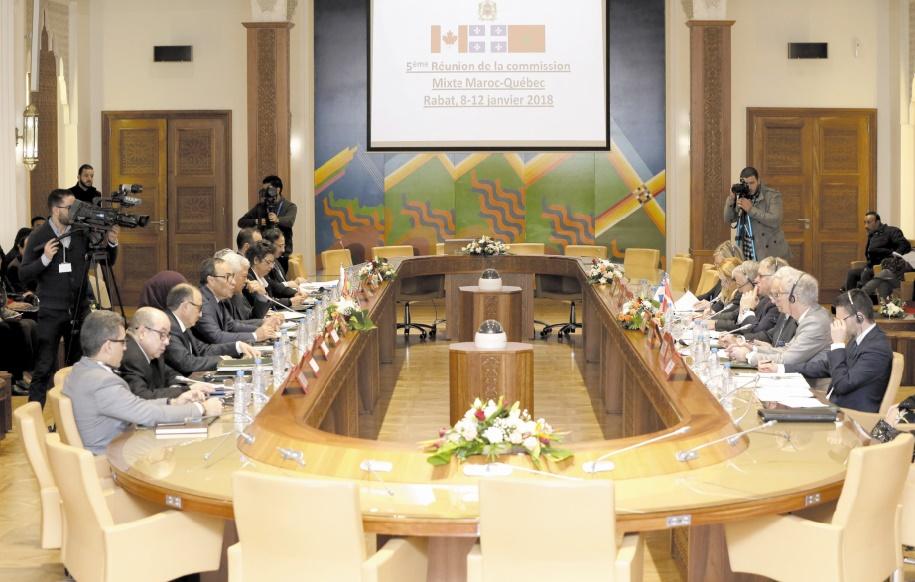 Habib El Malki : La Commission parlementaire mixte Maroc-Québec constitue un cadre de concertation et de dialogue institutionnalisé